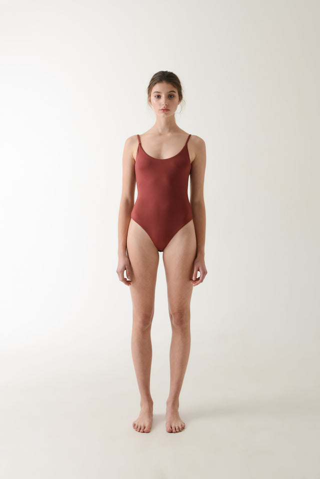 Leo Bodysuit - Wine
