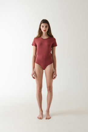 Rina Bodysuit - Wine