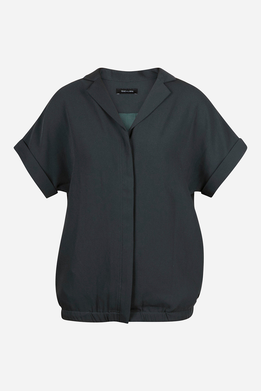 Blouson Shirt Jacket - Forest Green