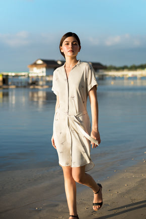 Botanical 2-way Shirtdress