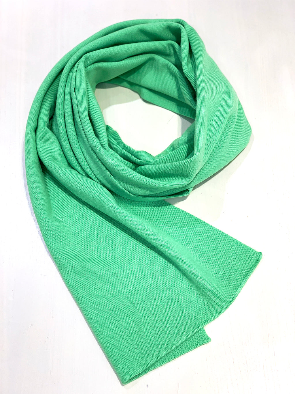 100% Cashmere Scarf - Chartreuse Green