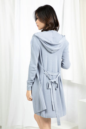 Hooded Wrap Cardigan - Cosmic