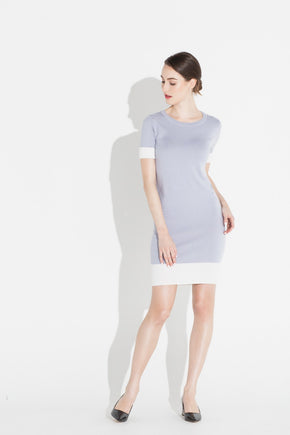 Colorblock Shift Dress - Cosmic