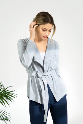 MVP Multi-way Cardigan - Silver