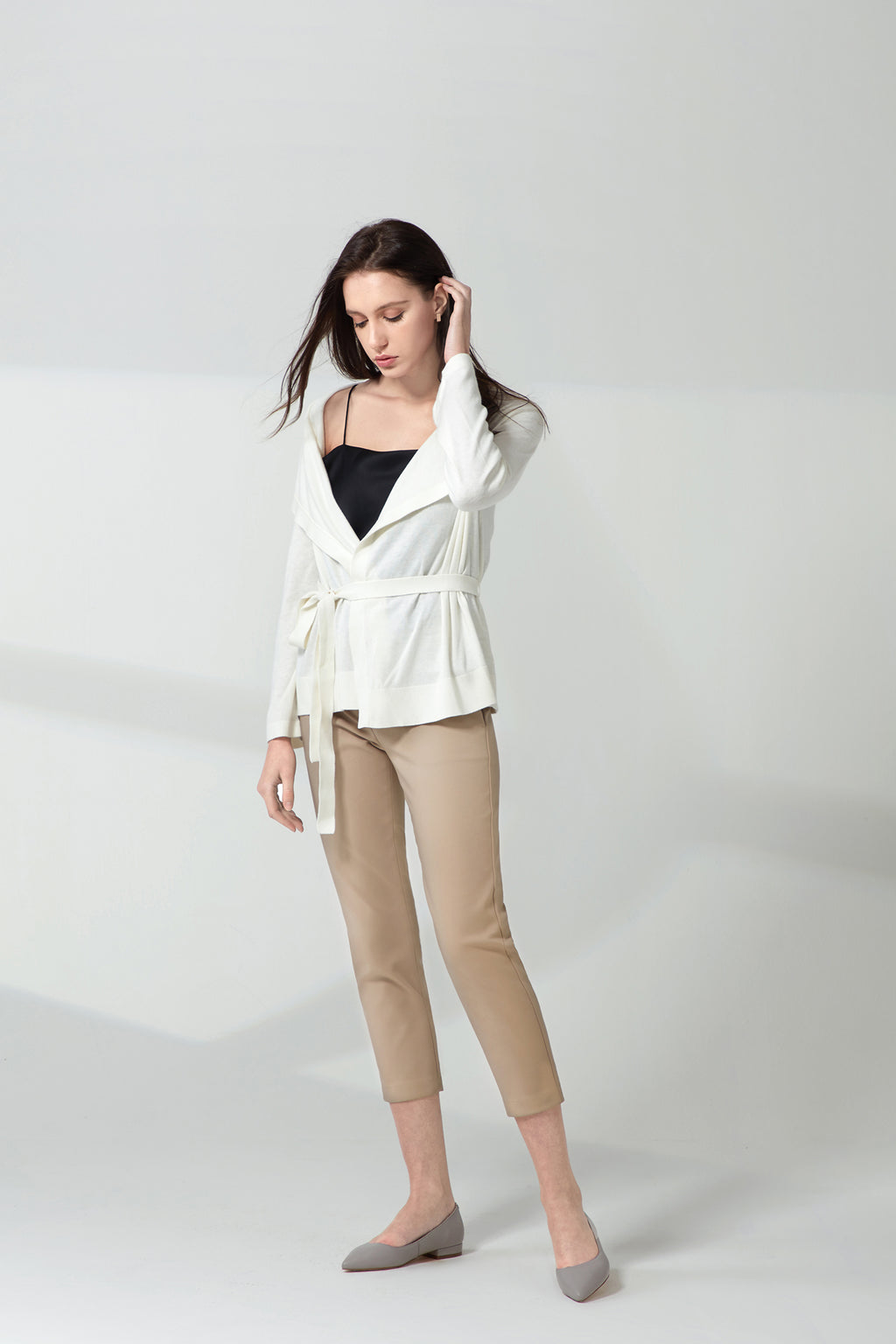 MVP Multi-way Cardigan - Snow