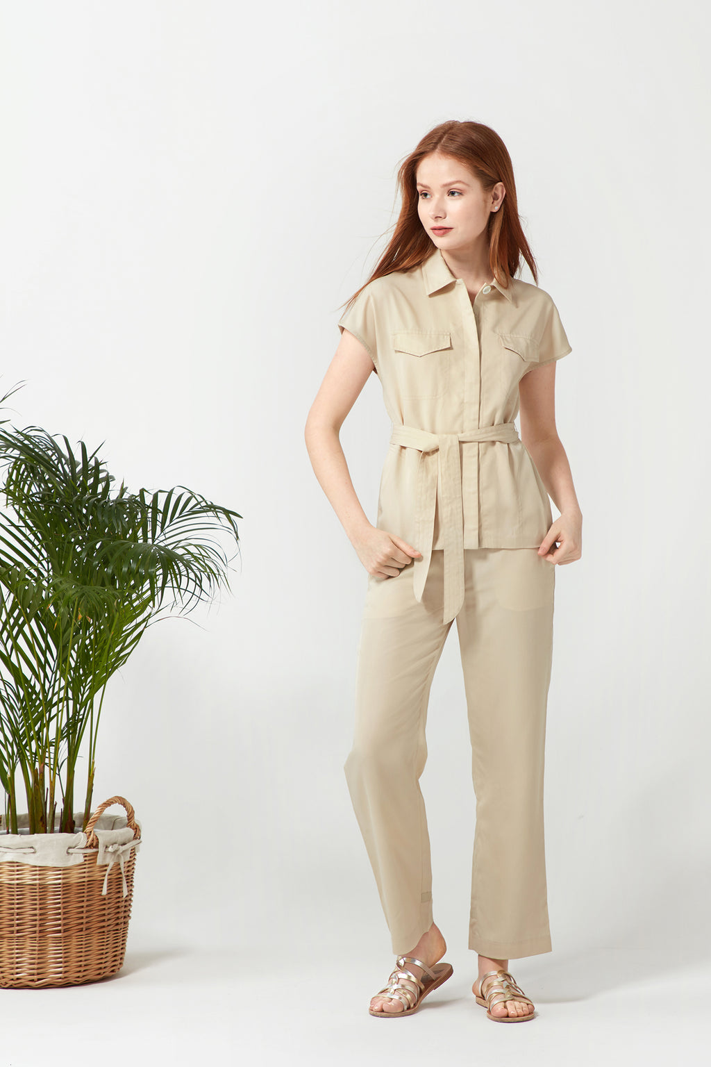 Safari 2-Way Shirt - Sand