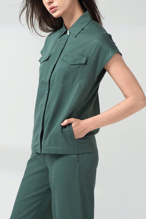 Safari 2-Way Shirt - Sage