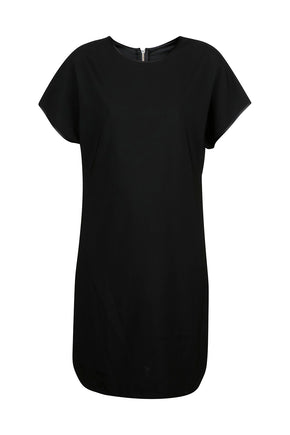 Zipped 2-way Dress - Black