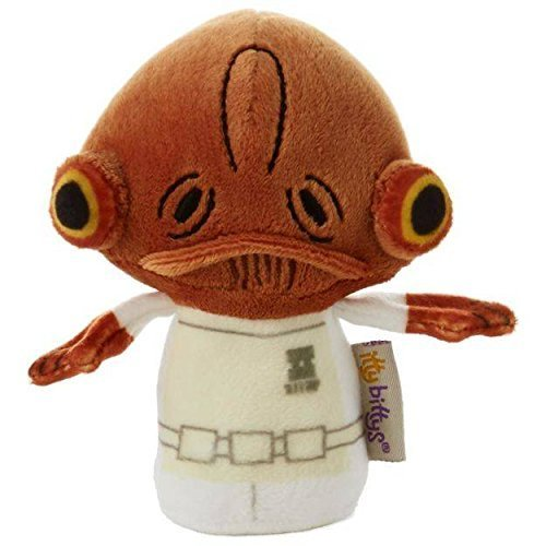 itty bittys Star Wars Admiral Ackbar Stuffed Animal Itty Bittys Just Because Movies & TV