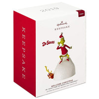 2019 Dr. Seuss How The Grinch Stole Christmas! Welcome Christmas Musical Ornament