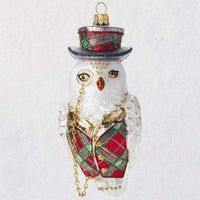 HMK Heritage Collection Ornament - Dapper Owl