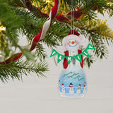 Hallmark Keepsake Christmas Ornament 2019 Year Dated Dad Cake Pop Snowman,