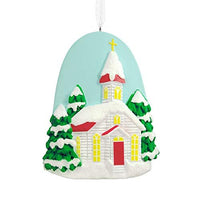 HMK Hallmark Dayspring Church Tree Trimmer Ornament