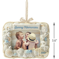 Hallmark Keepsake Ornament 2020 Seashell Sun and Fun, Beach Picture Frame