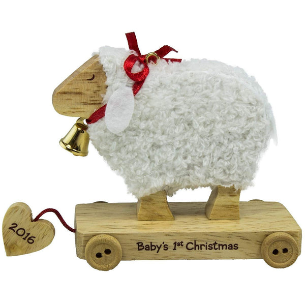 Hallmark Baby's First Christmas Little Lamb Ornament