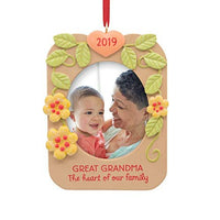 Hallmark Great Grandma Photo Holder Dated 2019 Tree Trimmer Ornament