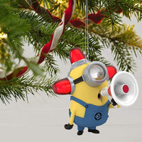 Hallmark Keepsake Christmas Ornament 2020, Despicable Me Minion Peekbuster With Motion-Activated Light and Sound
