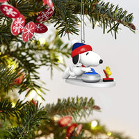 Hallmark Keepsake Mini Christmas Ornament 2018 Year Dated, Stylin' Santa Miniature with Motion, 1.87""