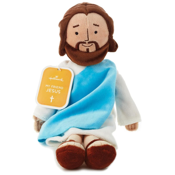 "Hallmark 13"" Jesus Plush Doll Figure Religious Toy from"