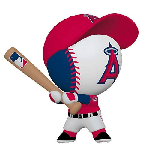 HMK Hallmark Los Angeles Angels Bouncing Buddy Ornament