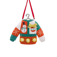 HMK Hallmark Tacky Christmas Sweater Tree Trimmer Ornament
