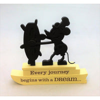 Hallmark 1DYG9142 - Steamboat Willie Every Journey Silhouette