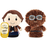 itty bittys Solo: A Star Wars Story Han Solo and Chewbacca Stuffed Animals, Set of 2 Itty Bittys Movies & TV; Sci-Fi