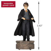Hallmark Keepsake Christmas Ornament 2019 Year Dated Collection Harry Potter with Light and Sound