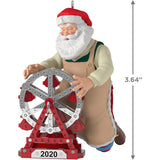 Hallmark Keepsake Christmas Ornament 2020 Year-Dated, Toymaker Santa