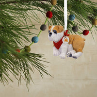 Hallmark Christmas Ornaments, Bulldog Ornament
