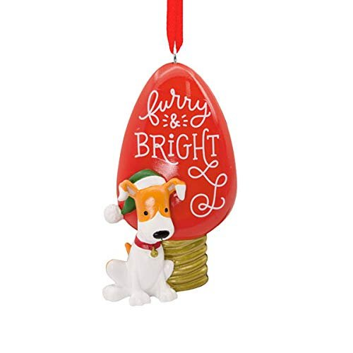 HMK Hallmark Furry and Bright Tree Trimmer Ornament