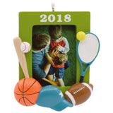 Hallmark All-Star Sports 2018 Picture Frame Ornament Sports & Activities