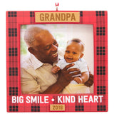 Hallmark Grandpa 2018 Picture Frame Ornament Family