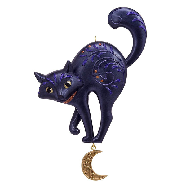 Hallmark Keepsake Halloween Ornament 2019 Bewitching Black Cat,