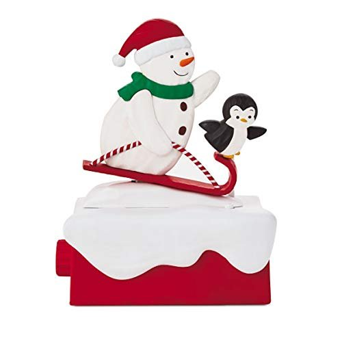 Hallmark 2018 Continuity Snow Many Memories Snowmen #3: Snow What Fun Sledders