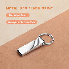 Load image into Gallery viewer, Hot Sale  2TB USB 3.0 Flash Drives Metal Keychain USB Flash Drives