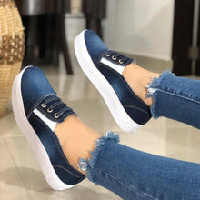 Load image into Gallery viewer, Women Casual Canvas Sneaker Shoes