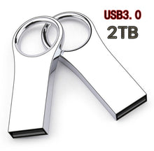 Load image into Gallery viewer, Hot Sale USB3.0 Flash Drives  2TB Metal USB Flash Drives