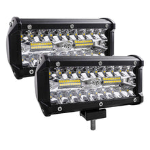 Load image into Gallery viewer, Led Light Bar, 240W 24000lm Led Fog Light 7 Inch Led Driving Lights Off Road Lights