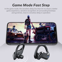 Load image into Gallery viewer, TWS Bluetooth 5.0 Earphones Wireless Bluetooth Headphone Bone Conduction 9D HiFi Stereo Sport Headsets Handsfree with Microphone