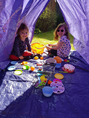 Mumma and Mia The Cottage Garden Den Kit Tea Party