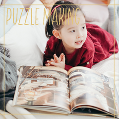 5 ways to entertain kids indoors puzzle making