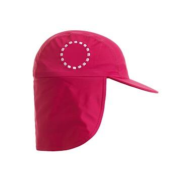 Noma Swimwear Pink & White Legionnaire's Sun Hat - Mumma and Mia
