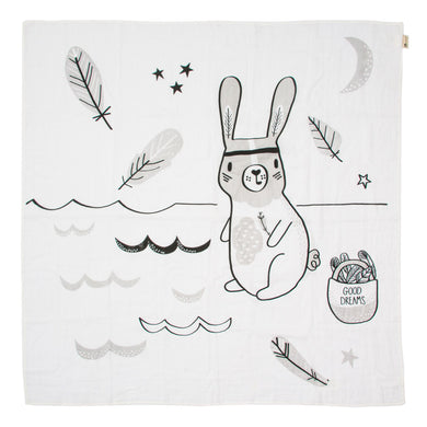Kippins River Story Print Muslin Wrap - Mumma and Mia