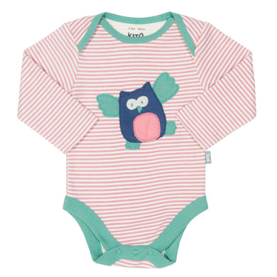 Kite Stripy Owl Bodysuit - Mumma and Mia