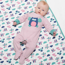 Load image into Gallery viewer, Kite Stripy Owl Sleepsuit - Mumma and Mia