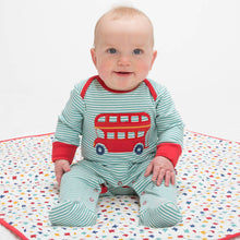 Load image into Gallery viewer, Kite Stripy Bus Sleepsuit - Mumma and Mia