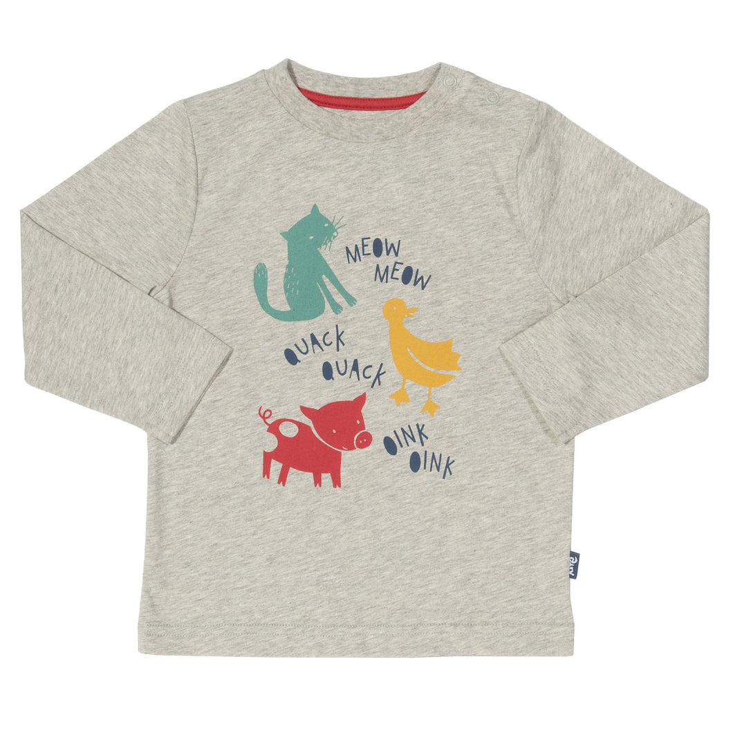 Kite Animal Sounds T-shirt - Mumma and Mia