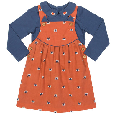 Kite Foxy Pinafore Set - Mumma and Mia