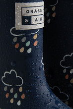 Load image into Gallery viewer, Grass & Air Navy Infant Wellies - Mumma and Mia